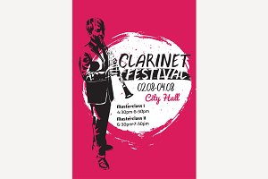 Clarinet Festival Poster