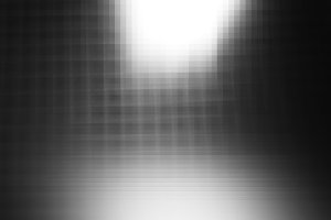 Black and white pixel abstraction ba