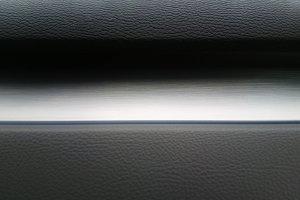 Horizontal black and white line text