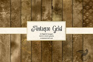 Antique Gold Textures