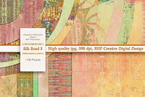 Silk Road 3:  Grungy Boho Paper