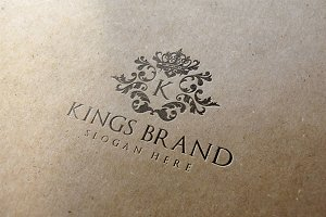 Kings Brand Logo Template