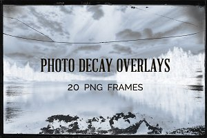 Photo Decay Overlays