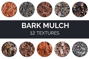 Bark Mulch Textures / Backgrounds