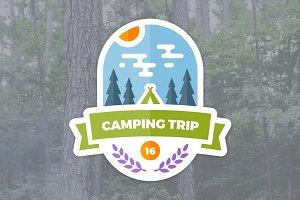 Camping Trip Emblem