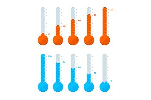 Thermometer Signs Different Types