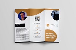 Lawyer Trifold Brochure