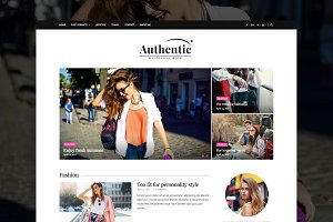 Authentic - WordPress Magazine Theme