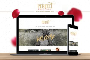 Perfect Sunshine - HTML Blog Theme