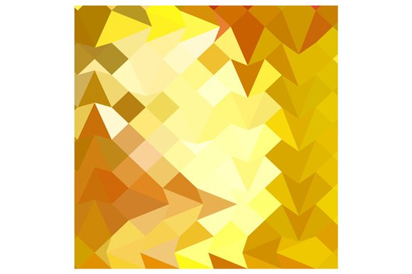 Amber Yellow Abstract Low Polygon Ba in Textures
