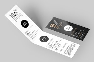 2x DL Flyer & Brochure Mock-Up 3