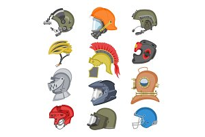 Helmet vector helm equipment