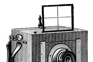 Vintage photographic camera