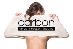 CARBON - Stylish Display Typeface