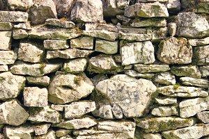 Stone walling Background