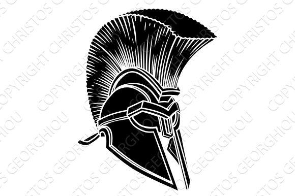 6ff16c01e6a Ancient Greek Spartan Helmet ~ Creative Daddy