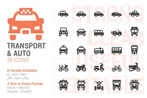 Vehicle & Transport Filled Icon