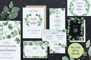 Eucalyptus Greens Wedding Suite