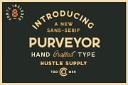 Purveyor - 8 Fonts Included