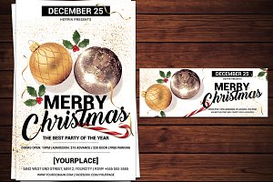 Christmas Psd Invitation Flyer