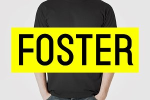 FOSTER - Amazing Display Typeface