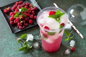 OFT DRINKS. Refreshing summer drink