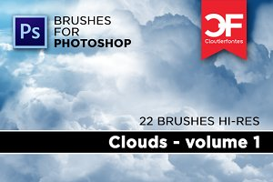 Clouds brushes Volume 1