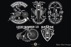 Biker Design Set