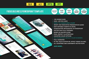 Focus Business PowerPoint Template