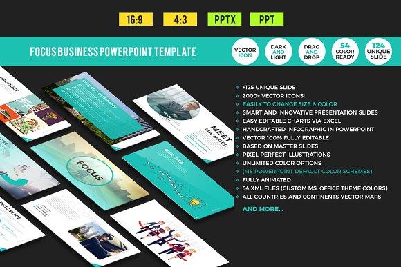 Focus Business Powerpoint Template Presentation Templates