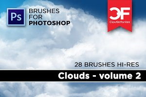 Clouds brushes Volume 2