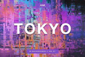 Tokyo | City Glitch Bgs | Vol. 01