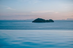 Infinity Pool Overlooking the Island