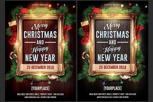 Christmas / New Year Flyer