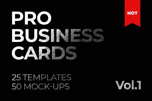 Business Card Bundle Template Mocku…