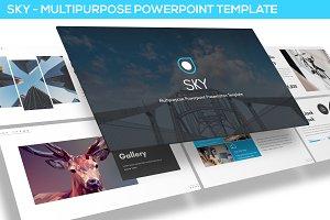 Sky - Multipurpose Powerpoint Templa