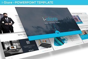 i-Store - Powerpoint Template