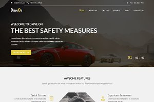 DriveOn – Driving School WP Theme