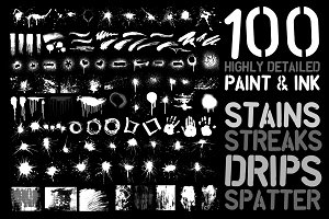 100 Vector Paint Objects