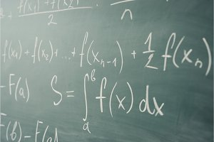 Math class. Algebra. The formulas