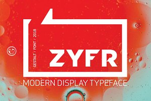 ZYFR - VINTAGE/MODERN DISPLAY FONT