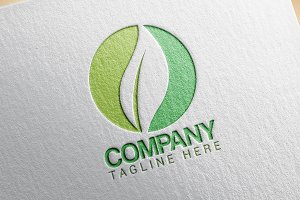 Green Company Logo Design