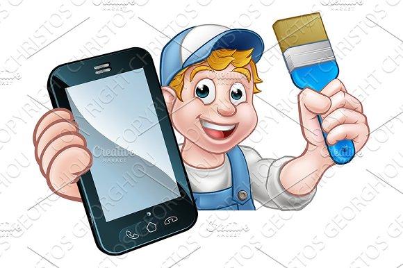 Painter Decorator Handyman Phone