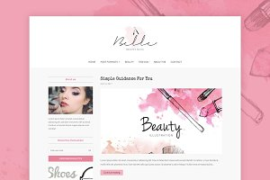 Belle - Fashion WordPress Theme