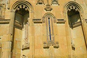 Ertatsminda cathedral facade details