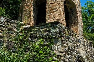 Mountains medieval Rkoni monastery