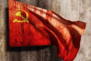 Old soviet flag