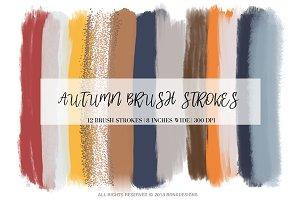 Autumn Brush Strokes