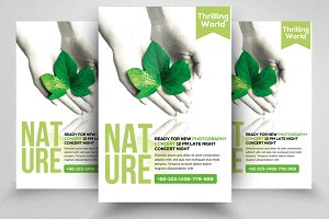 Nature Flyer Psd Templates 02