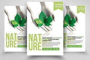 Nature Flyer Psd Templates 02